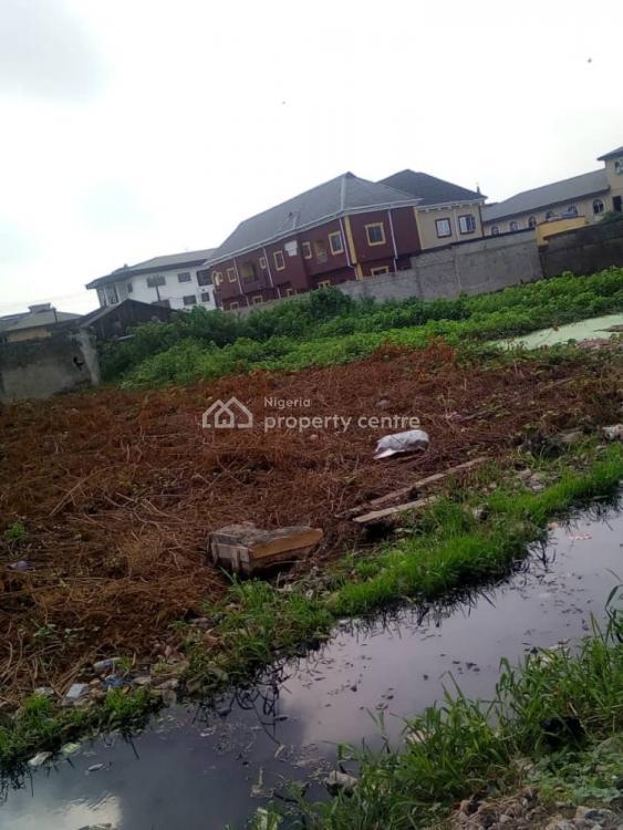 Half Plot of Land, Adebayo Street, Pedro, Gbagada, Lagos, Residential Land for Sale