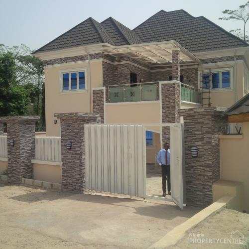 Brand New 4bedrooms Detached Duplex With Bq, Maitama