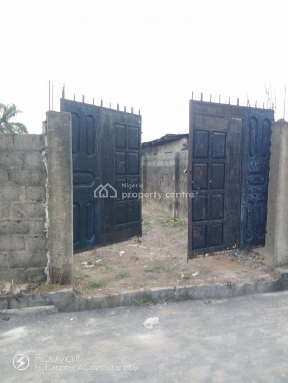 Genuine Half Plot with Federal Light, Radio Estate Ait Off Nta Road, Port Harcourt, Rivers, Residential Land for Sale