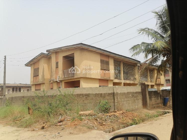 4 Units of 3 Bedrooms, Tayo Bello Estate, Fish Pond, Agric, Ikorodu, Lagos, Block of Flats for Sale
