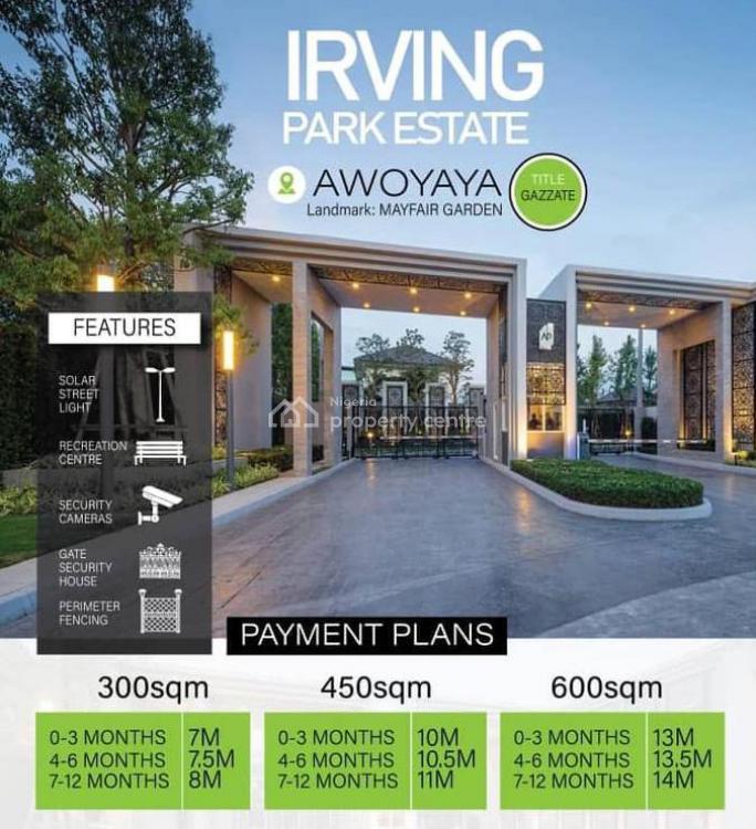 Land with Gazette, Oribanwa, Awoyaya, Ibeju Lekki, Lagos, Residential Land for Sale