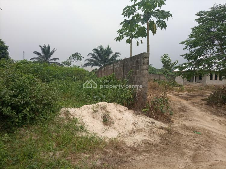 Accessible and Half Fenced Dry Land, Elelenwo, Port Harcourt, Rivers, Mixed-use Land for Sale