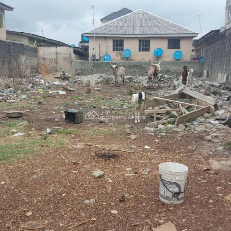 Vacant Plot of Land, Fenced Round with Gate Measuring 444sqm, Ibukunolu Street, Akoka, Yaba, Lagos, Residential Land for Sale