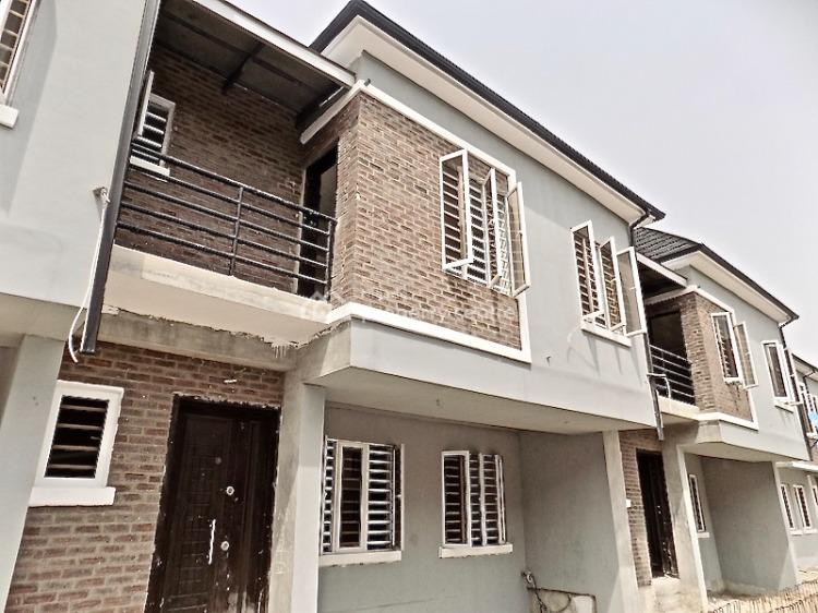 Brand New House 4 Bedrooms Terraced Duplex + 24 Hours Power, 2nd Tollgate, Lekki, Lagos, Terraced Duplex for Sale