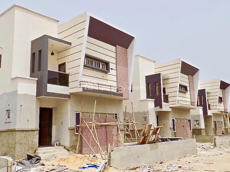 New House 3 Units of 5 Bedrooms Fully Detached Duplex with Bq, 2nd Tollgate, Lekki, Lagos, Detached Duplex for Sale