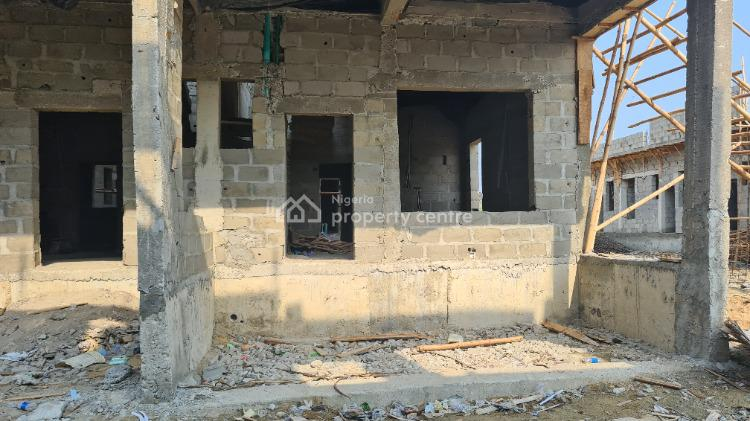 Newly Built Off Plan 4 Bedroom House with Luxury Finishing, Harris Crescent Road, By Vgc Estate, Vgc, Lekki, Lagos, Terraced Duplex for Sale