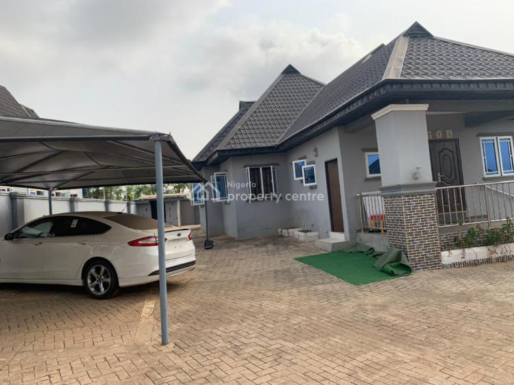 a Luxury Three Bedroom Flat with Backyard Room and Other Facilities, Hob Estate, Alagbaka Extension, Akure, Ondo, Detached Bungalow for Sale