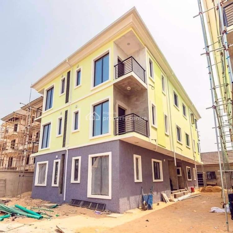 Exquisitely Finished 4 Bedroom Semi-detached House with 1rm Bq, Elf Estate, Lekki Right, Lekki Phase 1, Lekki, Lagos, House for Sale