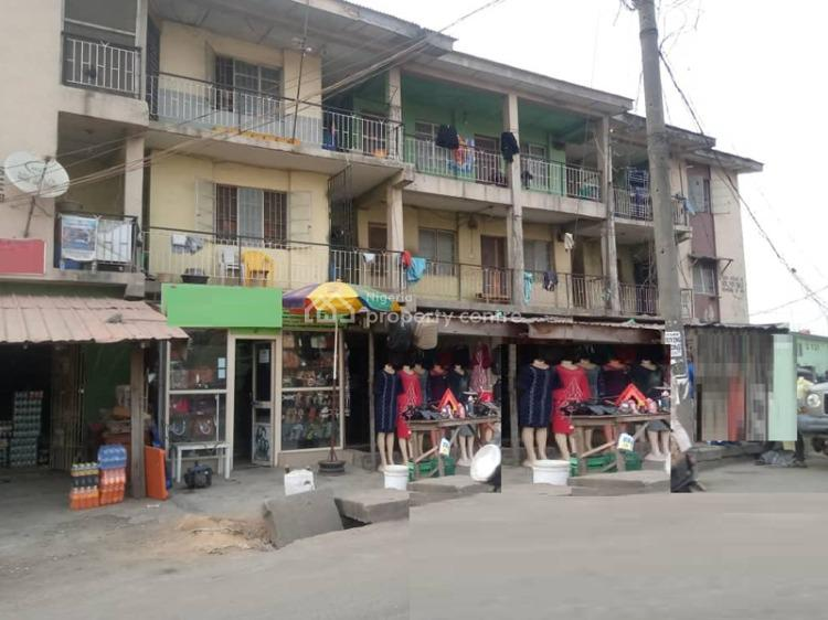 a Block of Flats on a Conner Piece of Over 500sqm, Alapere, Ketu, Lagos, Block of Flats for Sale