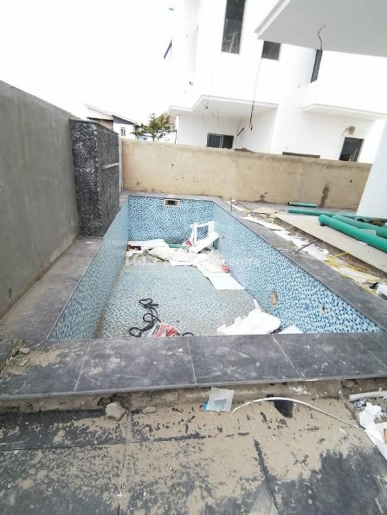 Luxury 5 Bedroom Fully Detached Duplex  with a Private Cinema,swimming, Osapa London, Osapa, Lekki, Lagos, Detached Duplex for Sale