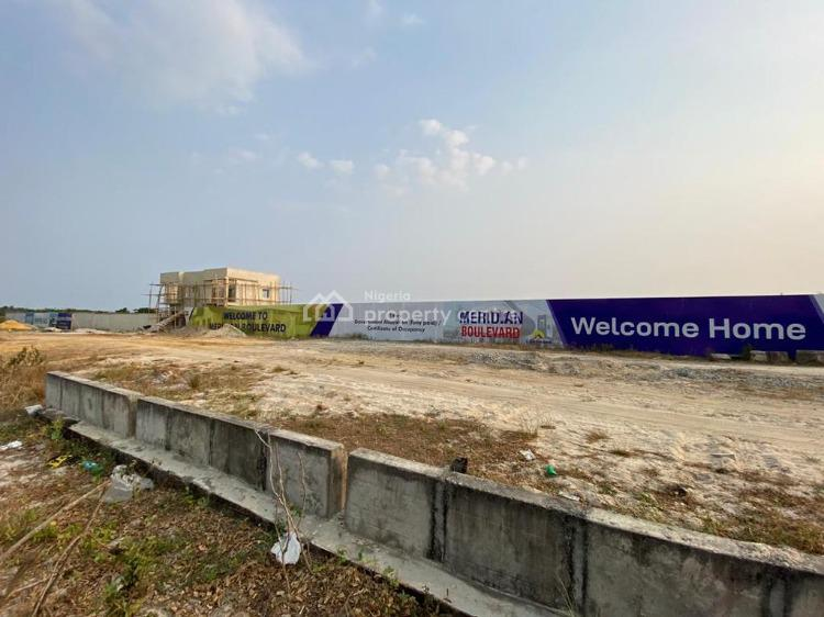 a Dream Location Packed with Potential, a Golden Ticket, Close Proximity to Atican Beach, Meridian Boulevard Estate, Okun-ajah, Ajah, Lagos, Residential Land for Sale
