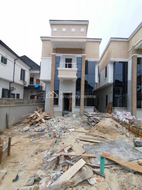Newly Built Beautiful 5 Bedroom Detached Duplex with a Room Bq, Osapa London, Lekki, Lagos, Detached Duplex for Sale