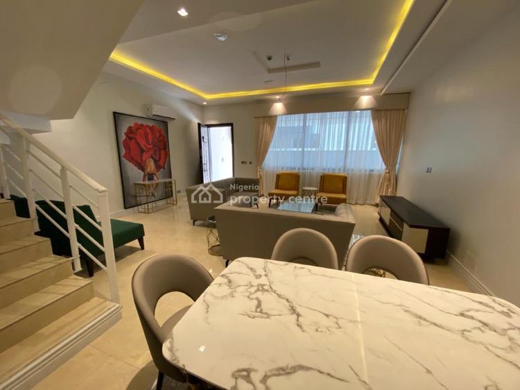 4 Unite of 3 Bedroom Terrace Duplex, Three Bedroom Terrace Duplex Furnished Brand New, Banana Island, Ikoyi, Lagos, Terraced Duplex for Sale