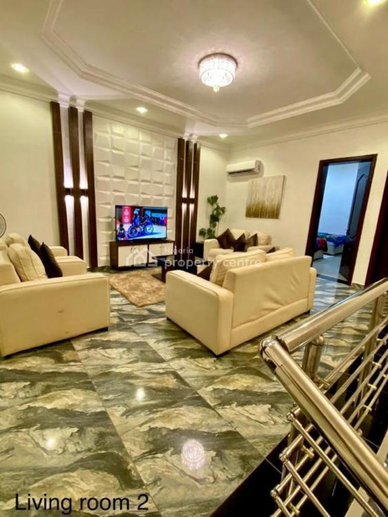 4 Bedrooms Terrace Duplex with 1 Room Bq, Katampe Extension, Katampe, Abuja, Terraced Duplex for Sale