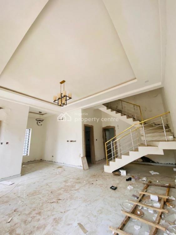 4 Bedroom Semi Detached Duplex with a Room Bq, Chevron Alternative, Lekki Phase 2, Lekki, Lagos, Semi-detached Duplex for Sale