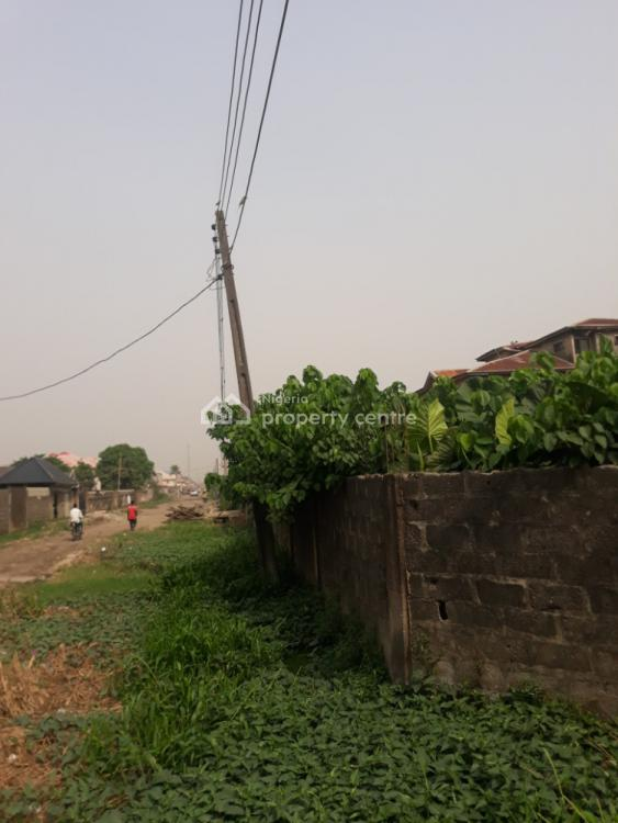 Cornerpiece Dry Land in a Secured Area Close to Road, Ago Palace, Isolo, Lagos, Residential Land for Sale