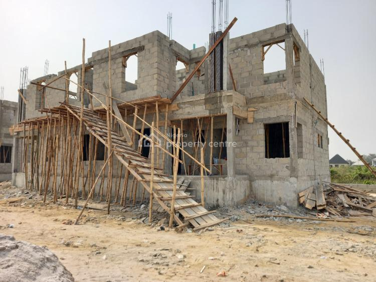 Luxury  3 Bedroom Semi-detached, Adjacent Beachfront Estate, Bogije, Ibeju Lekki, Lagos, Semi-detached Duplex for Sale