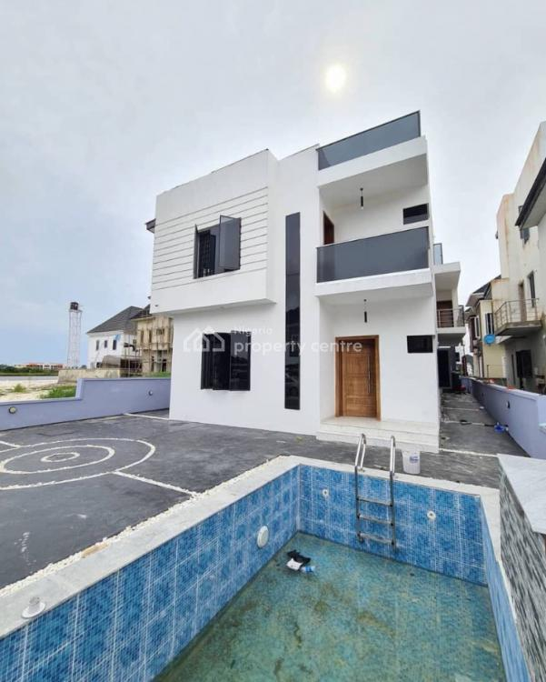 Massive 5 Bedrooms Detached Duplex with Water View and Swimming Pool, Ikota, Lekki, Lagos, Detached Duplex for Sale