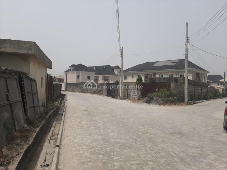 610sqm of Land, Fanced, Peninsula Gardens Estate, Before Shoprite, Sangotedo, Ajah, Lagos, Residential Land for Sale