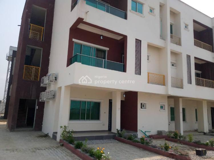 Tastefully Finished & Furnished 3 Bedroom Terrace, Meridian Park Estate, Lekki, Lagos, House for Rent