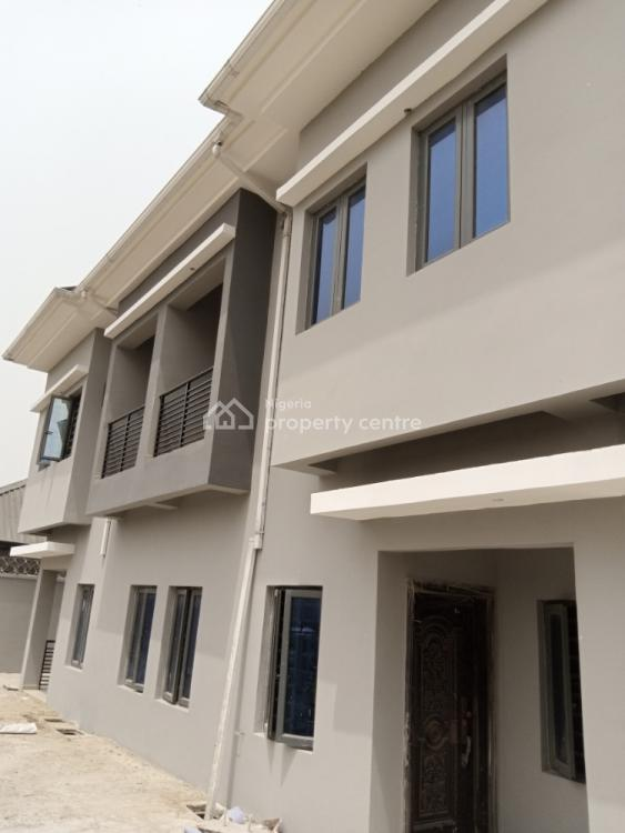 3 Bedroom Duplex with Bq New House, Just After Skymall, Sangotedo, Ajah, Lagos, Flat for Rent