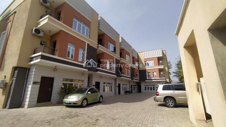Brand New 4 Bedroom Terraced Duplex with Attached Bq, Jahi, Abuja, Terraced Duplex for Sale