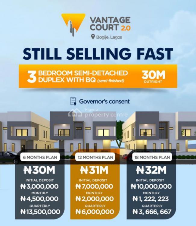 Semi- Detached Duplex, Vantage Court 2, Shapati, Ibeju Lekki, Lagos, Semi-detached Duplex for Sale