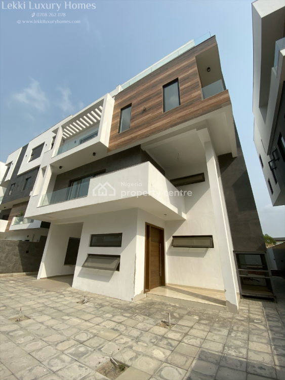Luxury 5 Bedrooms Detached Duplex with Two B.q, Banana Island, Ikoyi, Lagos, Detached Duplex for Sale