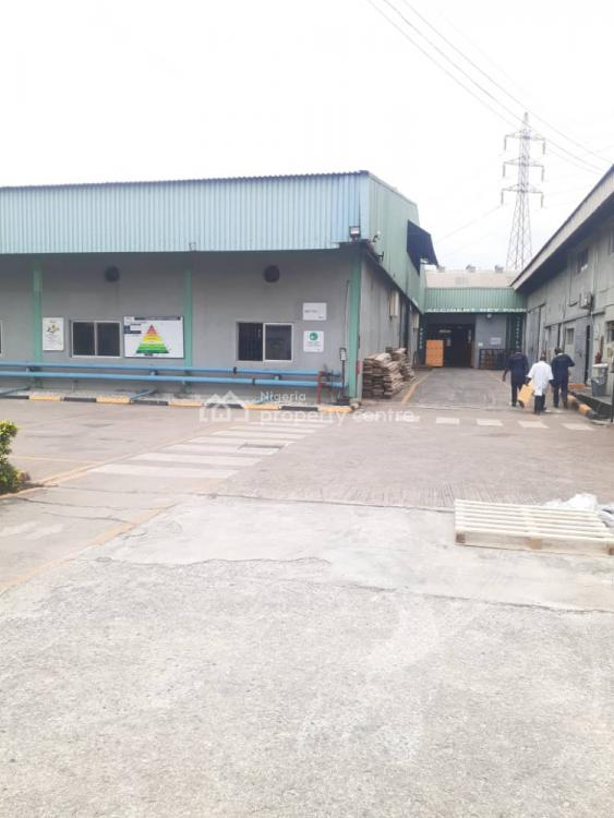 Warehouse with Office Space, Ikeja Industrial Estate, Ikeja, Lagos, Warehouse for Sale