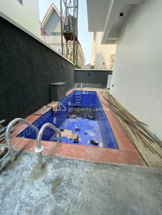 Contemporary 5 Bedroom Detached Duplex with Two B. Q, Lekki Phase 1, Lekki, Lagos, Detached Duplex for Sale