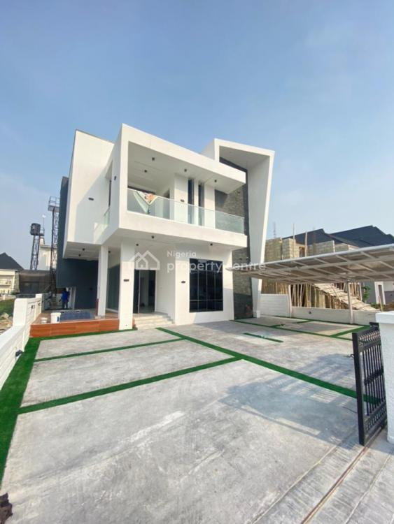 This Contemporary 5 Bedroom Fully Detached Duplex with Bq & Pool, Lekky County Homes, Ikota, Lekki, Lagos, Detached Duplex for Sale