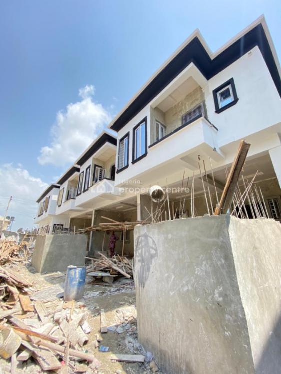 This Lovely 4 Bedroom Terraced Duplex with Bq, Sangotedo, Ajah, Lagos, Terraced Duplex for Sale