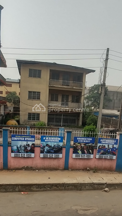 a Two Storey Self Compound Building, Jibowu, Yaba, Lagos, Office Space for Rent