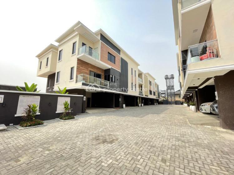 Luxury 4 Bedrooms Terraced Duplex with Gym and Pool, Lekki Phase 1, Lekki, Lagos, Terraced Duplex for Sale