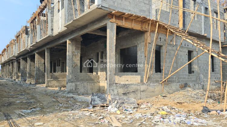 Make 50% Deposit and Spread Balance for 6 Months Without Interest Now, Harris Crescent Road, By Vgc Estate, After Chevron, Romax Properties, Vgc, Lekki, Lagos, Terraced Duplex for Sale