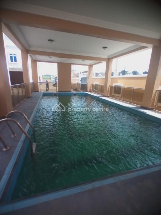 Luxury 4 Bedroom Terraced Duplex with Swimming Pool and Gym House, Off Kusenla Road, Ikate Elegushi, Lekki, Lagos, Terraced Duplex for Sale