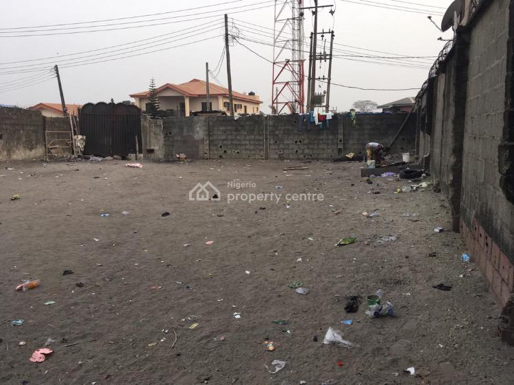 Fenced and Gated Plot of Land, Owode Lagbansa,, Ajah, Lagos, Land for Sale