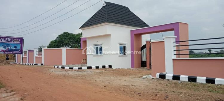 Dry Land with C of O, Fenced, Gated and Painted Facing The Main Road, Caleb Court Ido, Opposite Ido Local Government Secretariat, Ido, Oyo, Residential Land for Sale