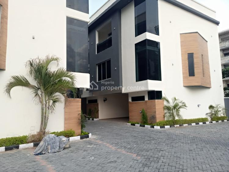 Exquisitely Finished 4 Bedroom Townhouse with a Room B.q, Off Adeola Odeku Street, Victoria Island (vi), Lagos, Terraced Duplex for Sale