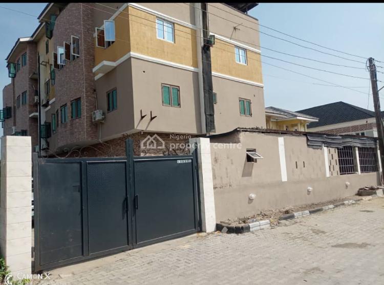 a 2 Bedroom Flat with Bq, Newroad, Opposite Chevron, Lekki, Lagos, Block of Flats for Sale
