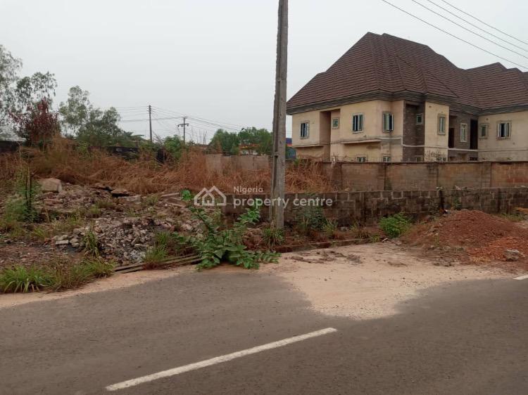 Strategic 1 & Half Partly Fenced Plots of Land, Victory Estate Off Old Airport Road,thinkers Corner, Enugu, Enugu, Residential Land for Sale