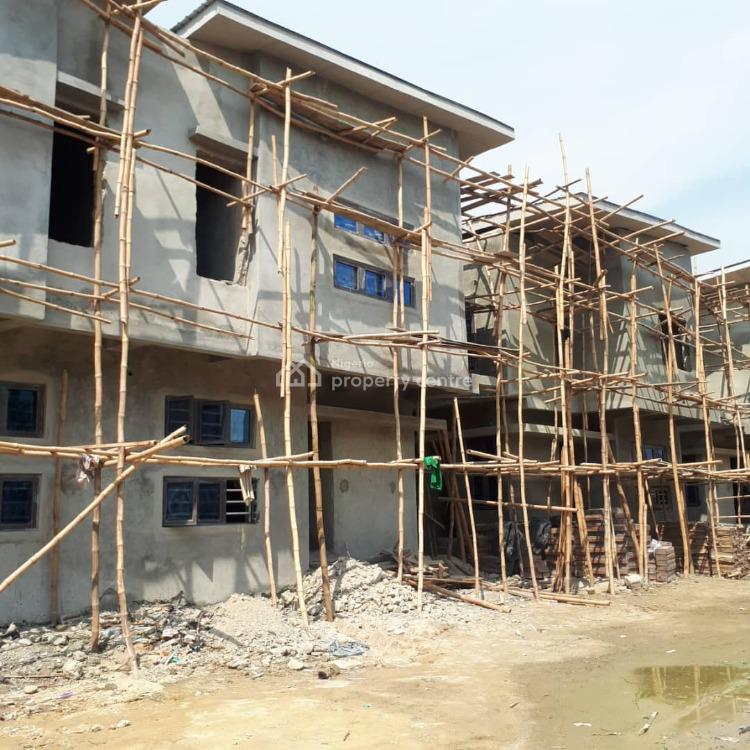 4 Bedroom Semi Detached Duplex - Off Plan with Payment Plan, Ikota Gra Estate, Ikota, Lekki, Lagos, Semi-detached Duplex for Sale