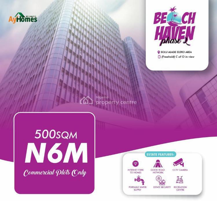 Affordable Water Front Land, Eleko, Ibeju Lekki, Lagos, Commercial Property for Sale
