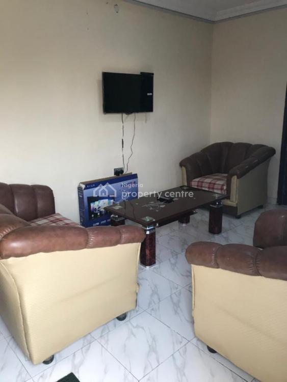 2 Bedrooms Serviced Apartment, Fully Equiped, Olayiwola Avenue, Omolayo Estate, Akobo, Ibadan, Oyo, House Short Let