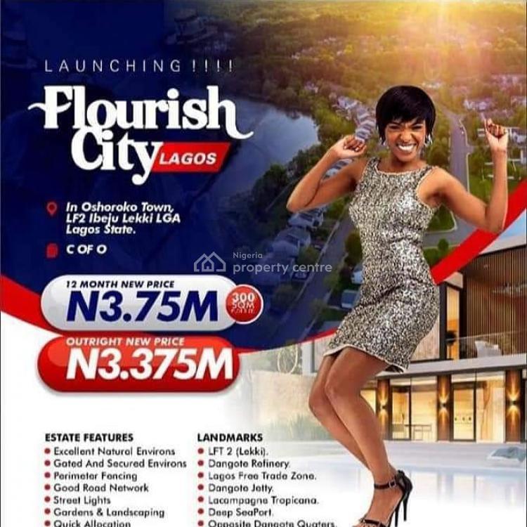 Plots of Land , Lagos Free Trade Zone, Flourish City Estate, Osoroko, Ibeju Lekki, Lagos, Mixed-use Land for Sale