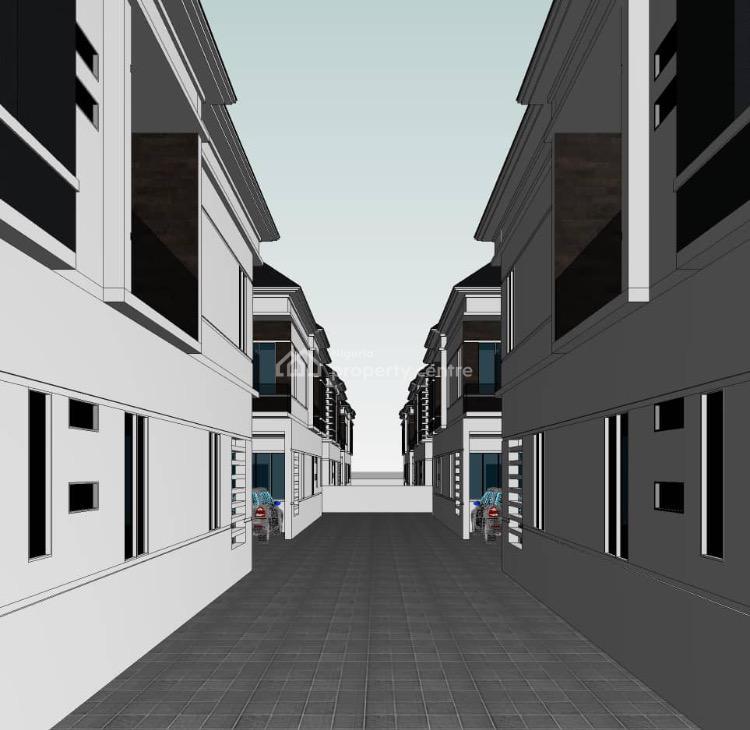 Spacious and Luxury 4 Bedroom Terrace, Orchid Road, Lekki Expressway, Lekki, Lagos, Terraced Duplex for Sale