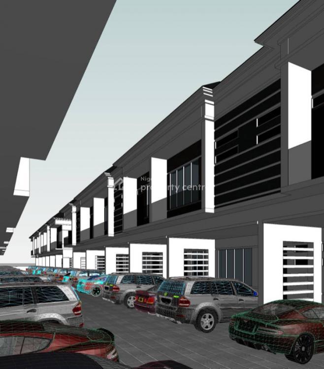 Luxury 4 Bedrooms Terraced Corner Piece, Orchid Road, Lekki Expressway, Lekki, Lagos, Terraced Duplex for Sale