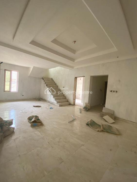 Luxury 4 Bedroom Semi-detached House with Maids Room and Fitted Kitchen, Diamond Estate,monastery Road By Novaire Shoprite Mall, Sangotedo, Ajah, Lagos, Semi-detached Duplex for Sale