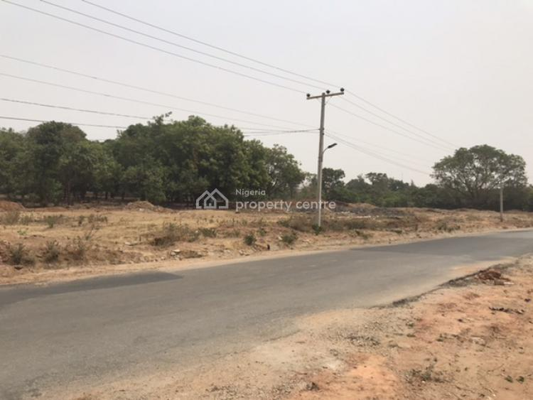 Location Is Everything: Bare Land Perfectly Placed & Strategic, Beside Oando Petrol Station, Opposite Catholic Church, Life Camp, Abuja, Residential Land for Sale