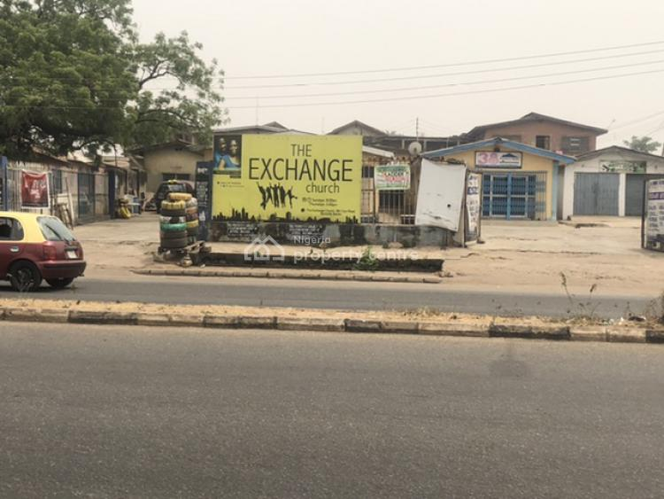 Fenced Commercial Property Sitting on 3200sqm of Land, Samonda - Ui Road., Ibadan, Oyo, Commercial Land for Sale